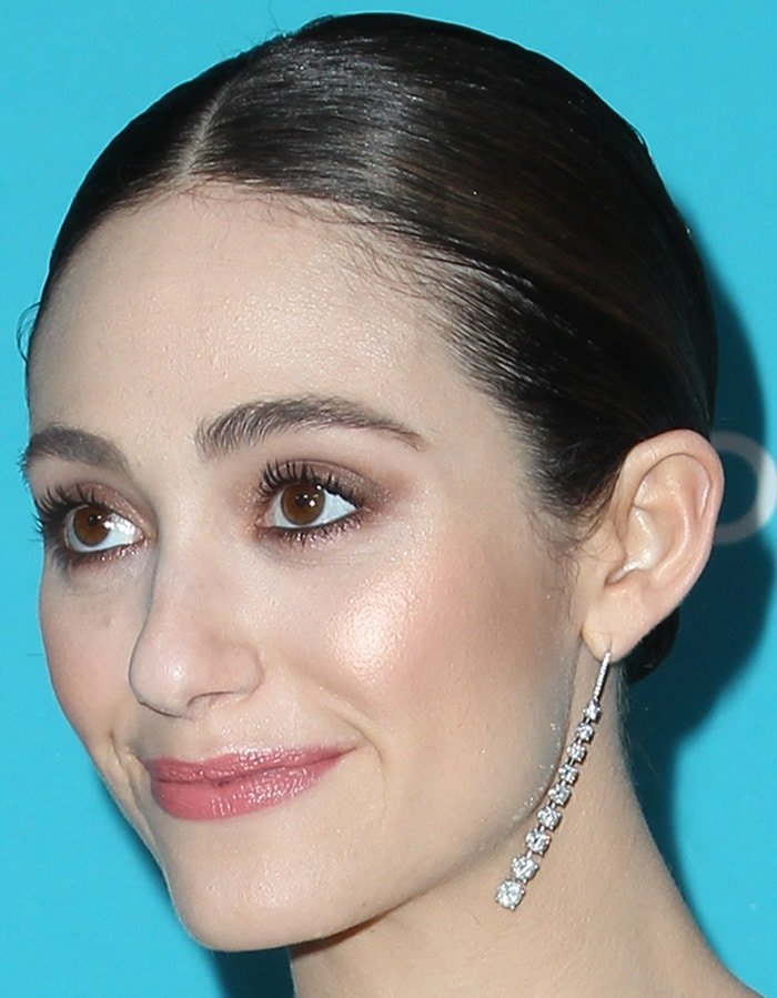 The beautiful actress impressed in another gorgeous outfit at the 17th Costume Designers Guild Awards held at the Beverly Hilton Hotel
