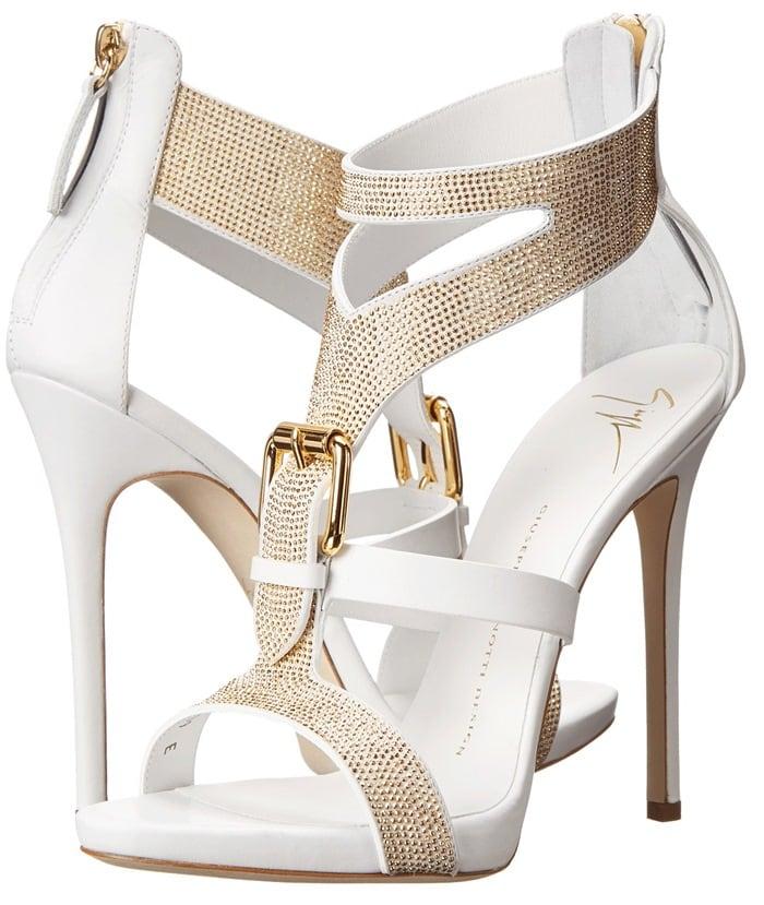 White Giuseppe Zanotti Sandals
