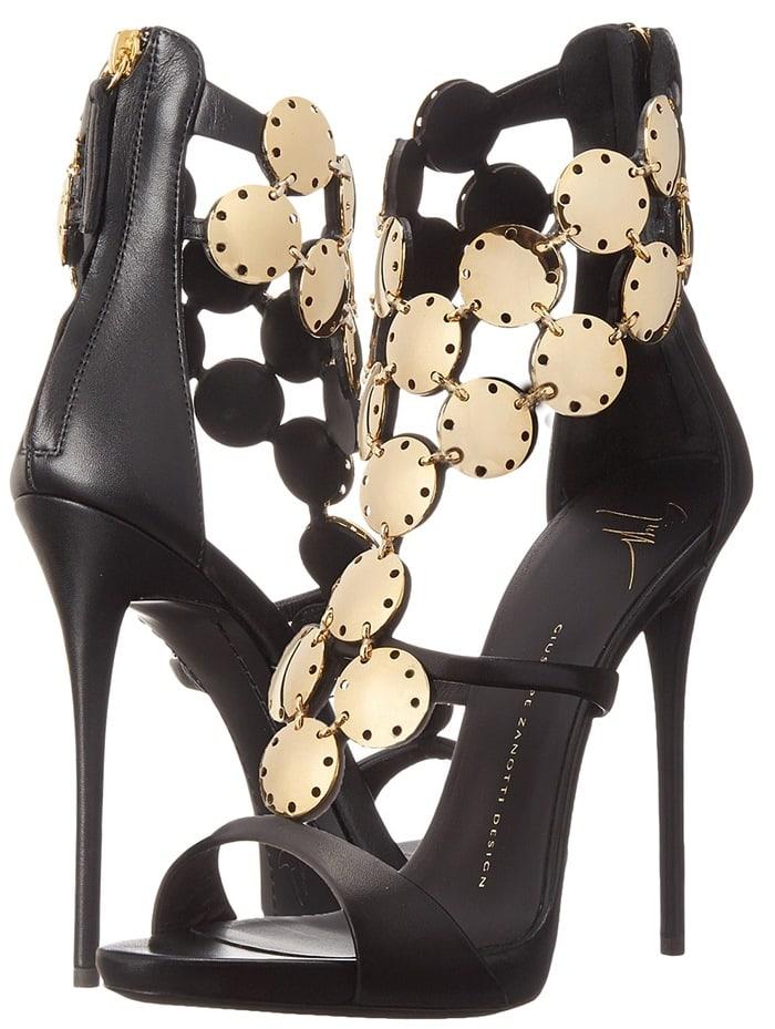 Black Embellished Giuseppe Zanotti Shoes