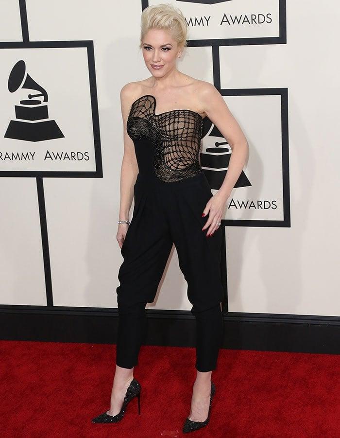 Gwen Stefani at the57th Annual Grammy Awards