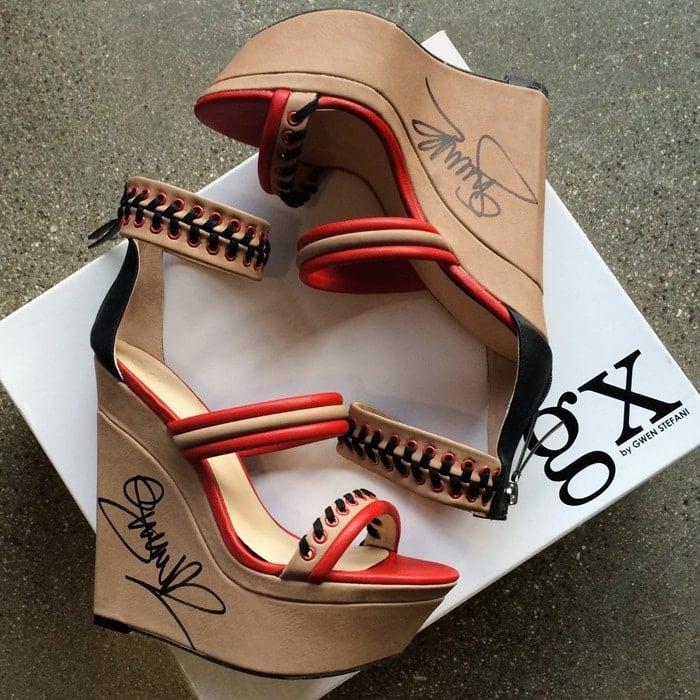 Signed GX by Gwen Stefani ShoeDazzle wedges