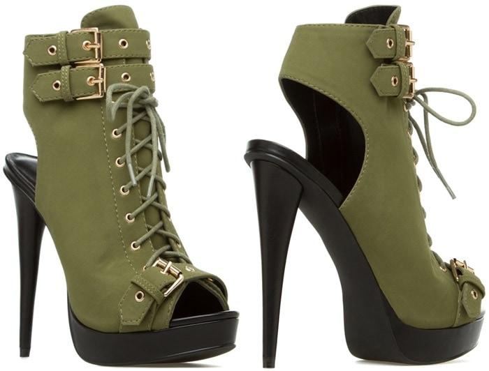 Jonetta Military Boots