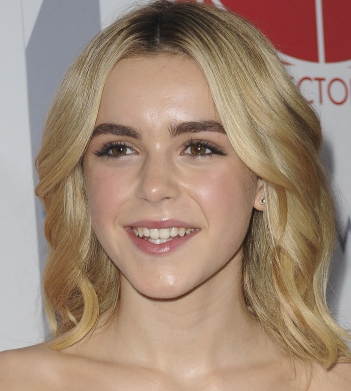 Kiernan Shipka at the 2015 Art Directors Guild Excellence In Production Design Awards held at the Beverly Hilton Hotel in Beverly Hills on January 31, 2015