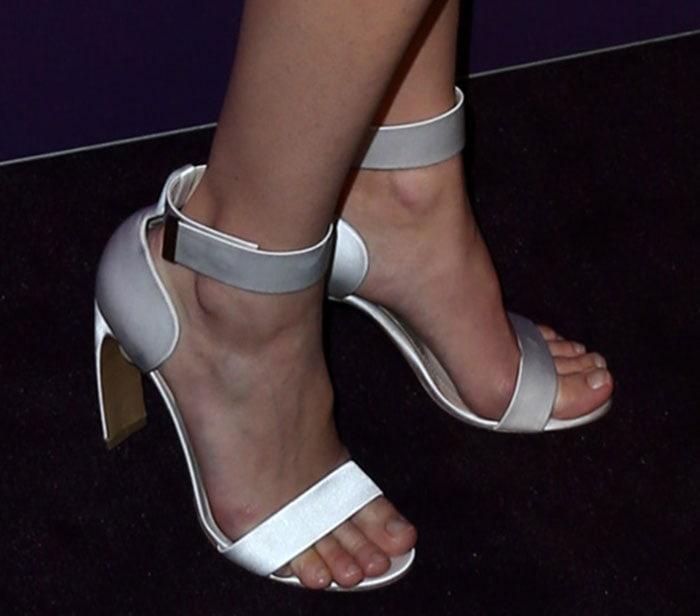 Marion Cotillard's sexy toes in Nicholas Kirkwood sandals