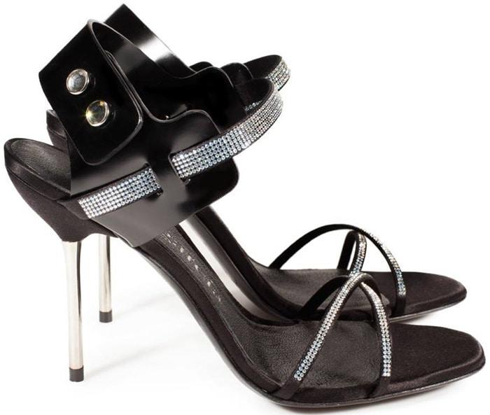 Pedro Garcia Matilda Swarovski Crystal Pavé Sandals