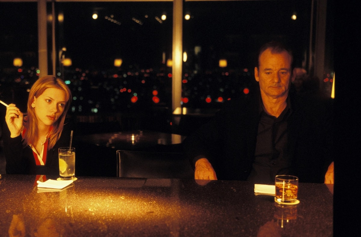 """Scarlett Johansson was 17 years old when she filmed """"Lost in Translation"""" with her 51-year-old co-star Bill Murray"""