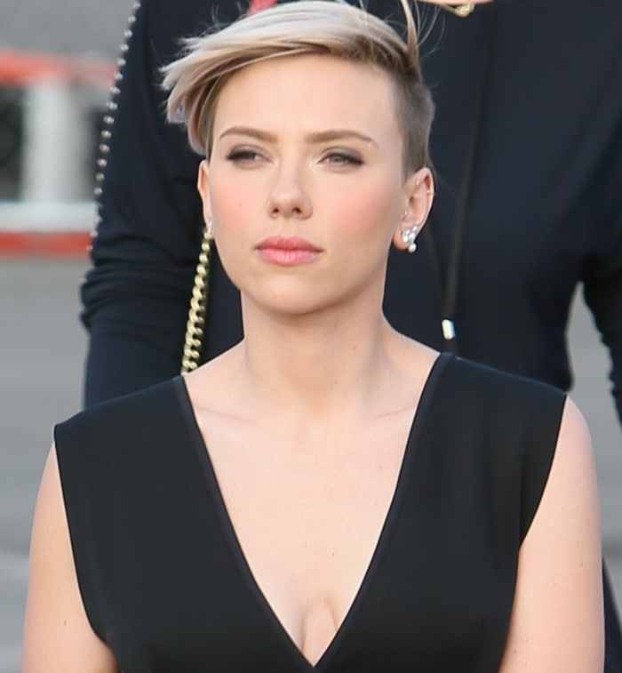 Scarlett Johansson at the 2015 Film Independent Spirit Awards at the beach in Santa Monica on February 21, 2015