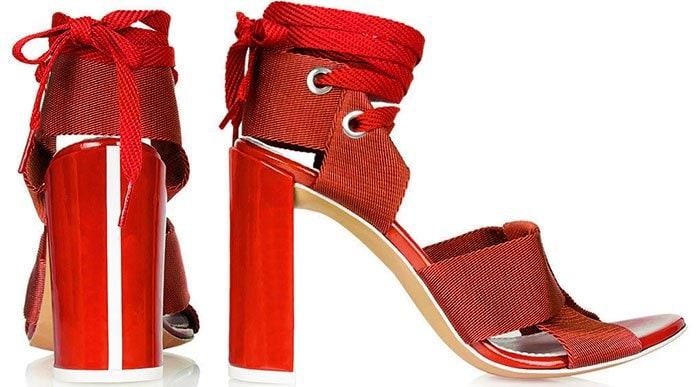 Topshop-Unique-Folded-Strap-Sandals-1