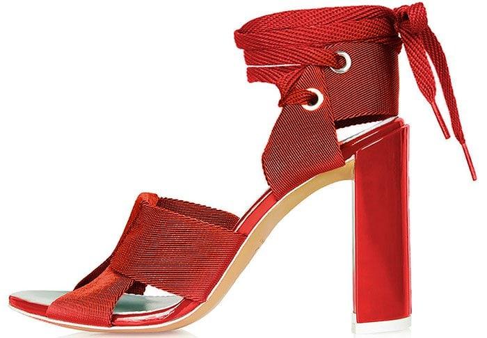 Topshop-Unique-Folded-Strap-Sandals