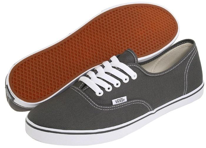 Vans Authentic Lo Pro Pewter Skate Shoe