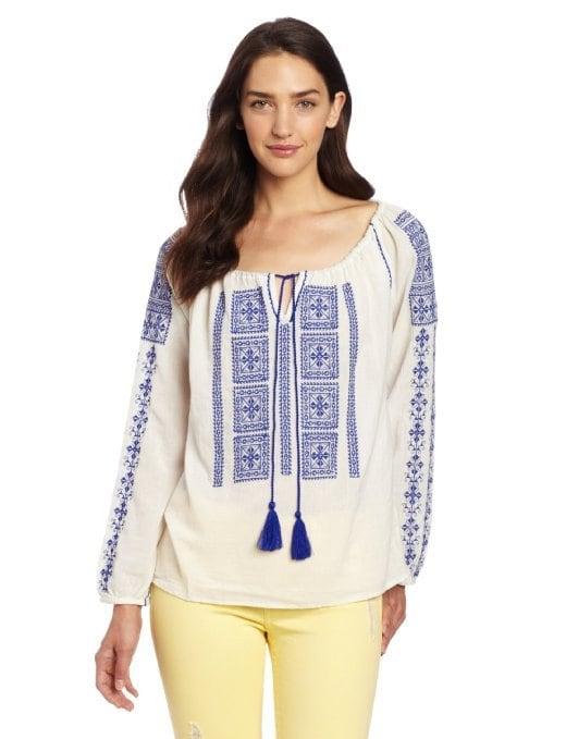 Velvet Women's Embroidered Top