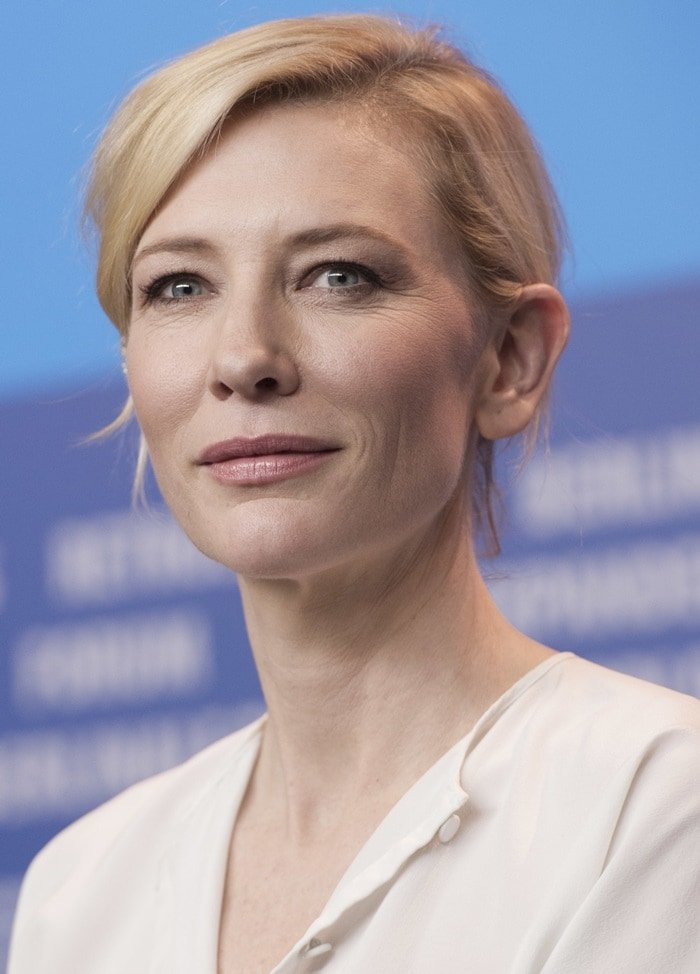 Cate Blanchett at a photo call for Cinderella at the 65th Berlin International Film Festival in Berlin, Germany, on February 13, 2015