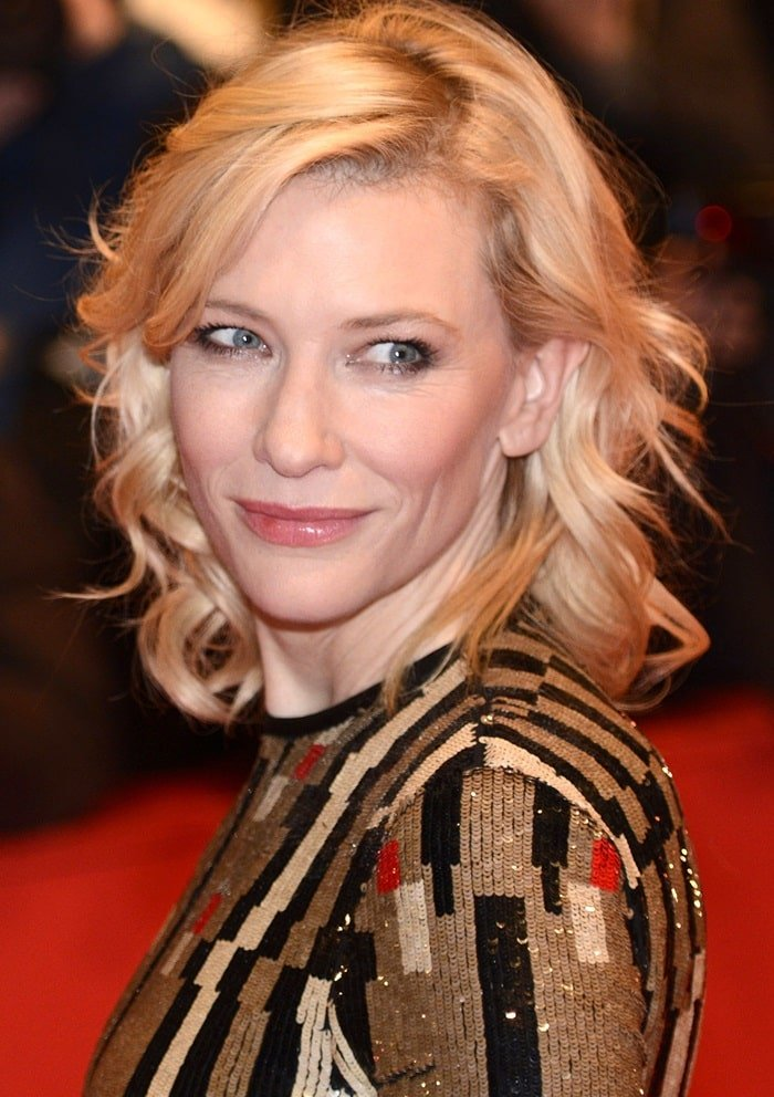 Cate Blanchett at the Cinderella premiere at the 65th Berlin International Film Festival in Berlin, Germany, on February 13, 2015