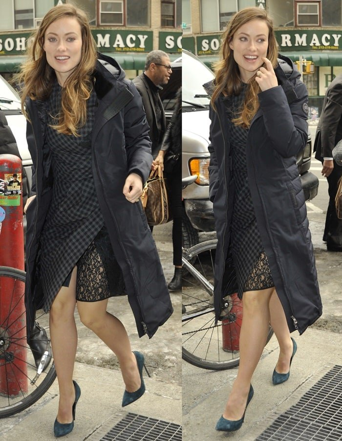 olivia wilde outside today show
