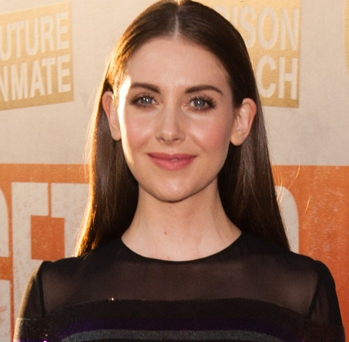 Alison Brie at the premiere of Get Hard at the TCL Chinese Theatre IMAX in Hollywood on March 25, 2015