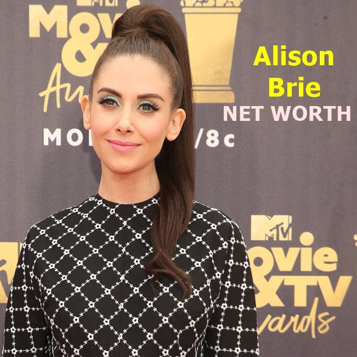 Alison Brie's estimated net worth is $10 million
