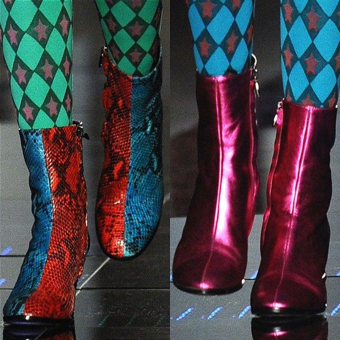 Au Jour Le Jour fall 2015 boots