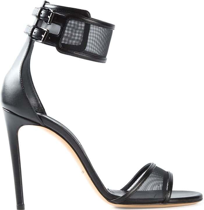Casadei Mesh-Strap Sandals