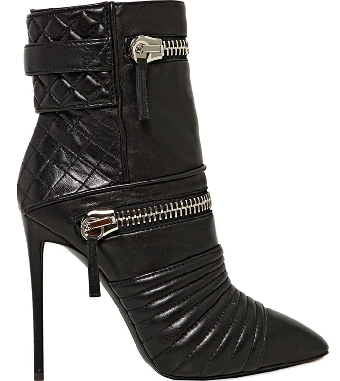 Giuseppe Zanotti Quilted Zipped Ankle Boots