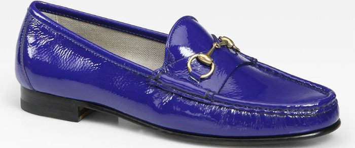 Gucci-Patent-Leather-Horsebit-Loafers-in-Cobalt
