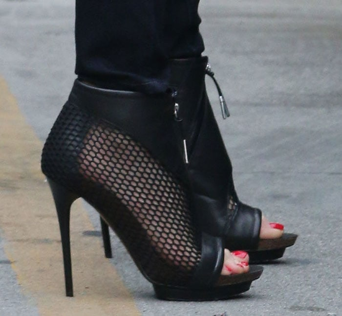 Gwen Stefani's Bicara booties from her L.A.M.B. collection