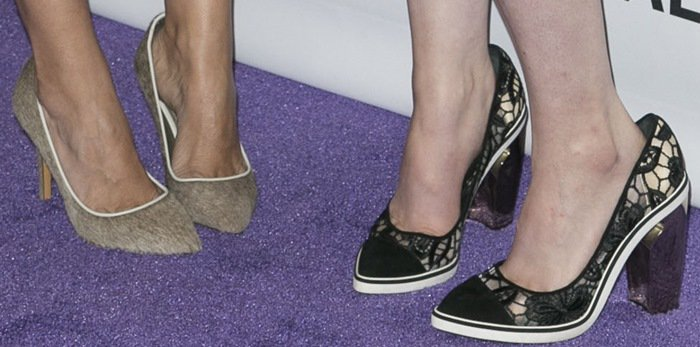 Lena Dunham and Jenni Konner show off their feet