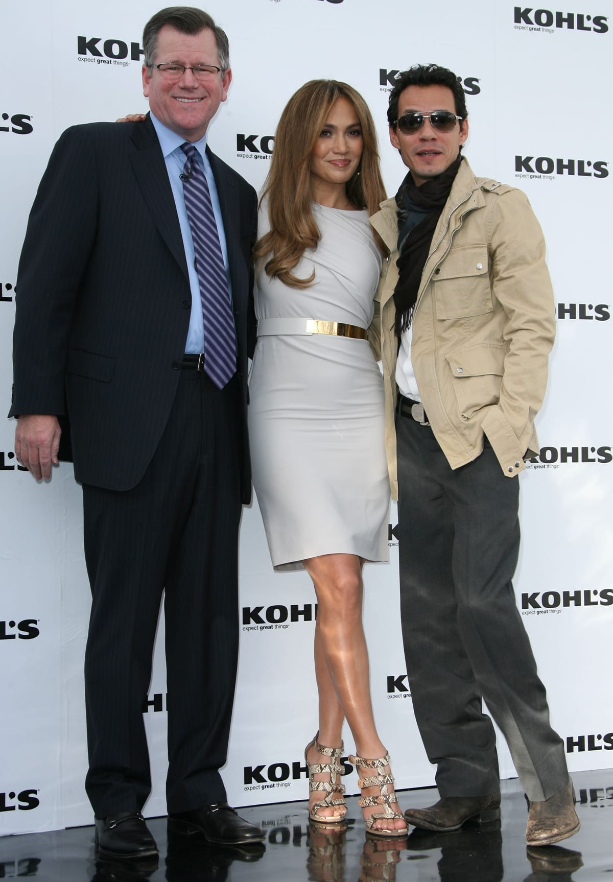 Don Brennan, Kohl's Senior Executive Vice President, announced the launch of two multi-department contemporary lifestyle brands with Jennifer Lopez and Marc Anthony