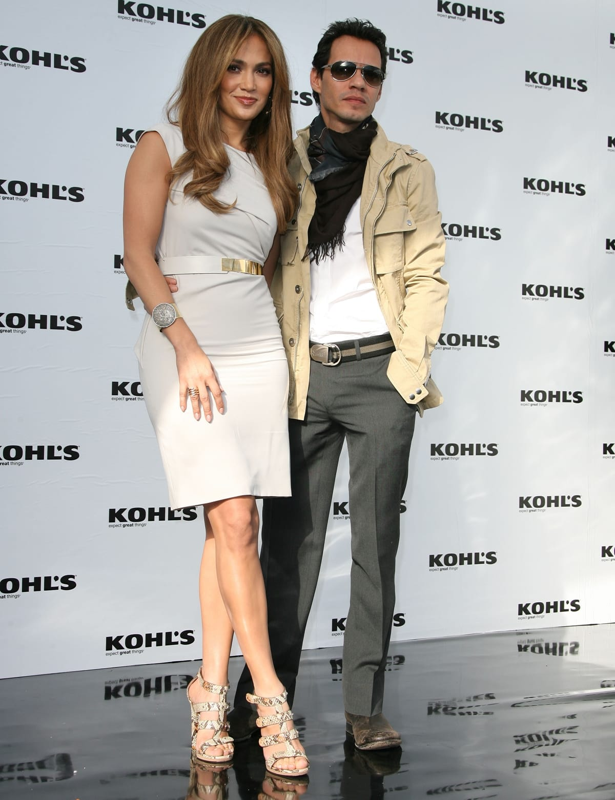 Jennifer Lopez and Marc Anthony announce a new partnership with KOHL's department store for their new lifestyle brand