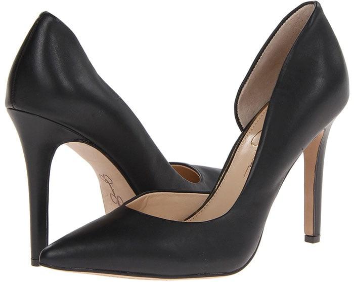 Jessica Simpson Claudette Pumps Black Leather