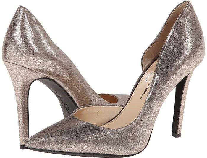 Jessica Simpson Claudette Pumps Metallic