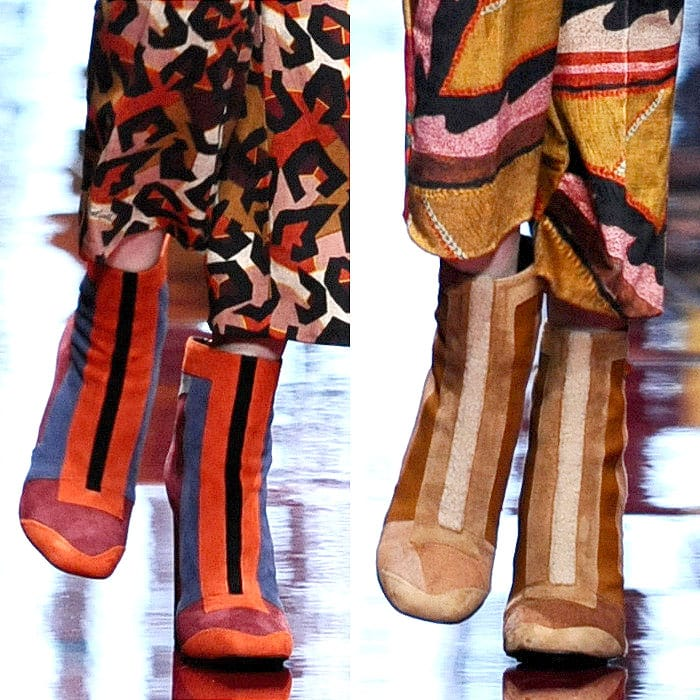 Just Cavalli fall 2015 retro boots