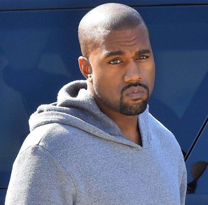 Kanye West took his daughter to ballet class at Miss Melodee Studios in Tarzana