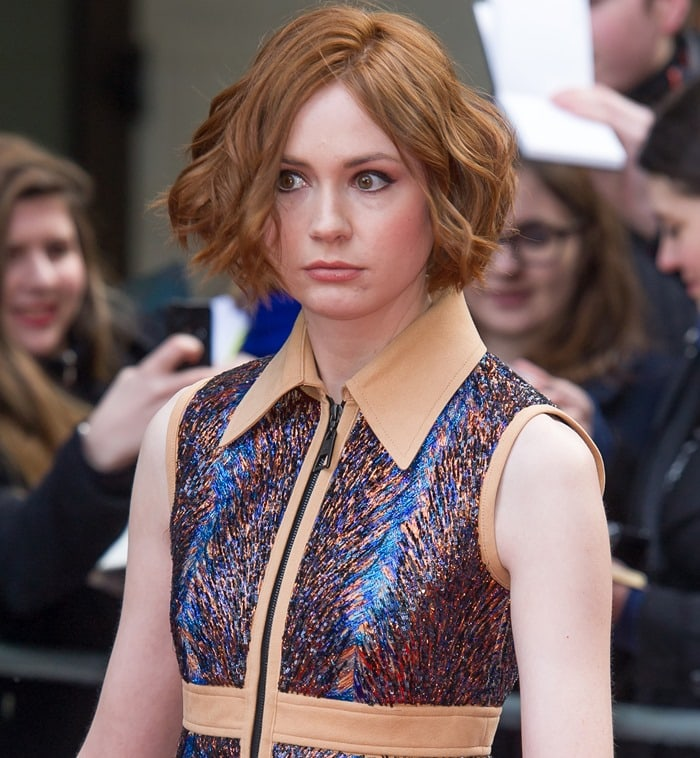 Known for her role as Amy Pond in the BBC science fiction series Doctor Who, Karen Gillan has a net worth of $2 million dollars