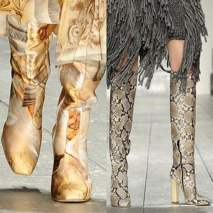 Laura Biagiotti fall 2015 boots