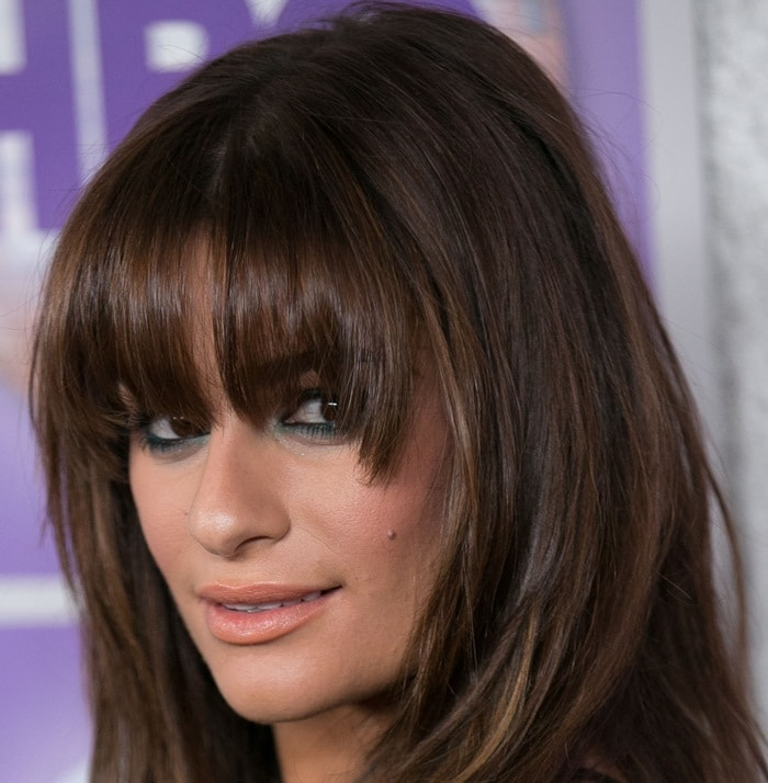 Lea Michele attends the Family Equality Council's Los Angeles Awards Dinner at Beverly Hilton on February 28, 2015