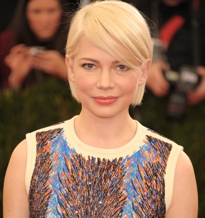 Michelle Williams at the 2014 Met Gala in New York City on May 5, 2014