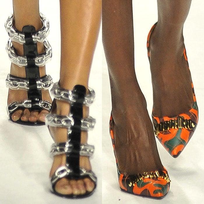 Moschino fall 2015 shoes`