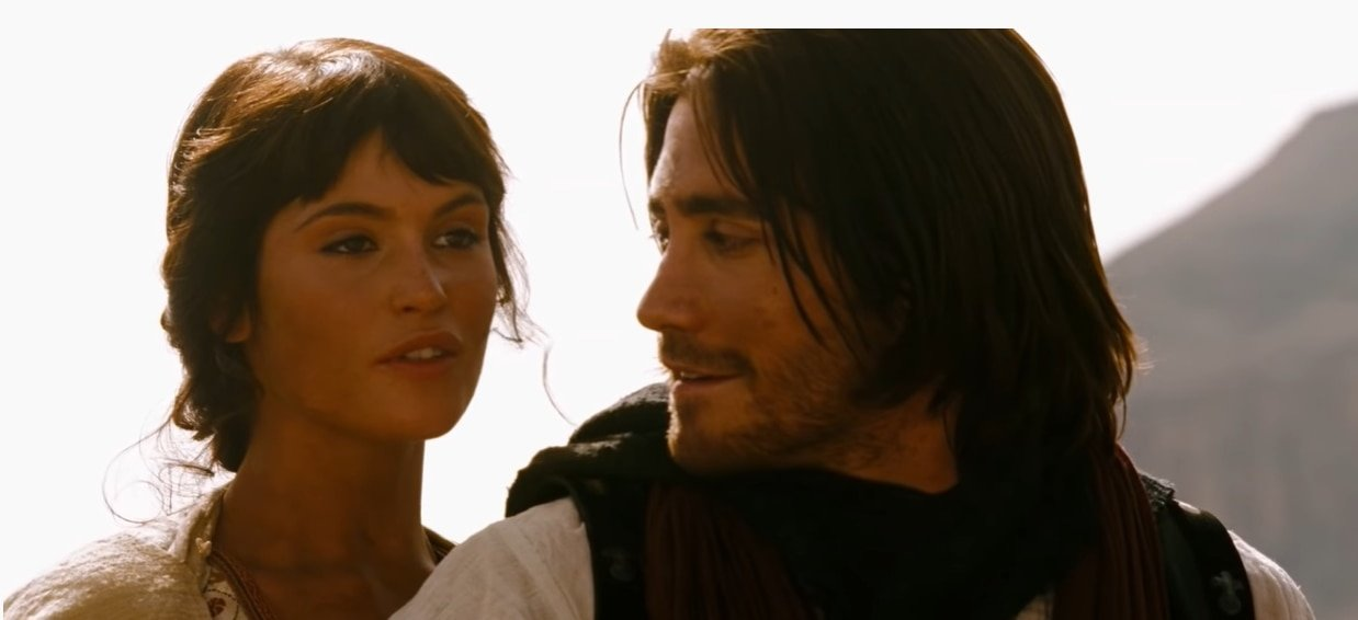 Gemma Arterton was 22 years old when filming Prince of Persia: The Sands of Time as Tamina, Princess of Alamut, starring with Jake Gyllenhaal as Dastan