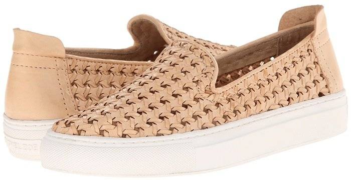 Rachel Zoe Burke Natural Fashion Sneakers