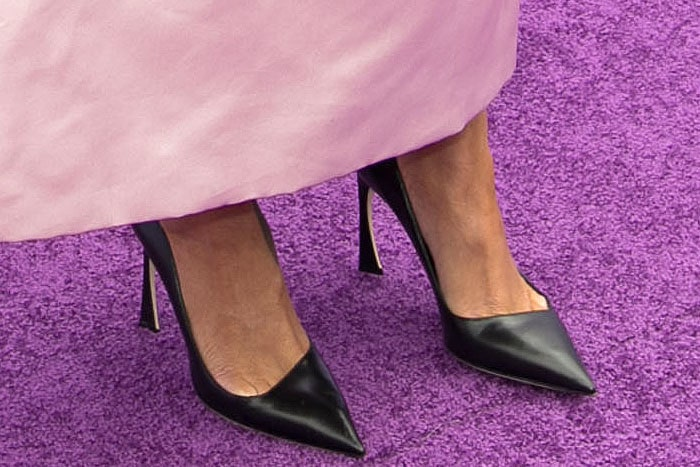 Rihanna Christian Dior leather pumps 1
