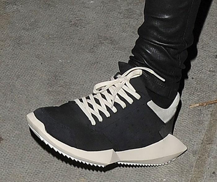 Rita-Ora-Rick-Owens-adidas-Tech-Runner-Sneakers-1