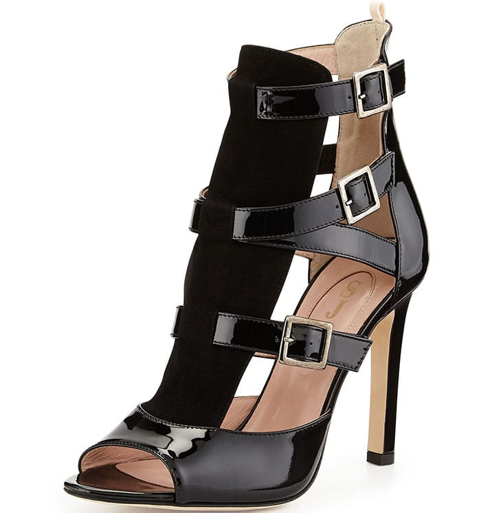 SJP by Sarah Jessica Parker Gina Strappy Patent Sandals