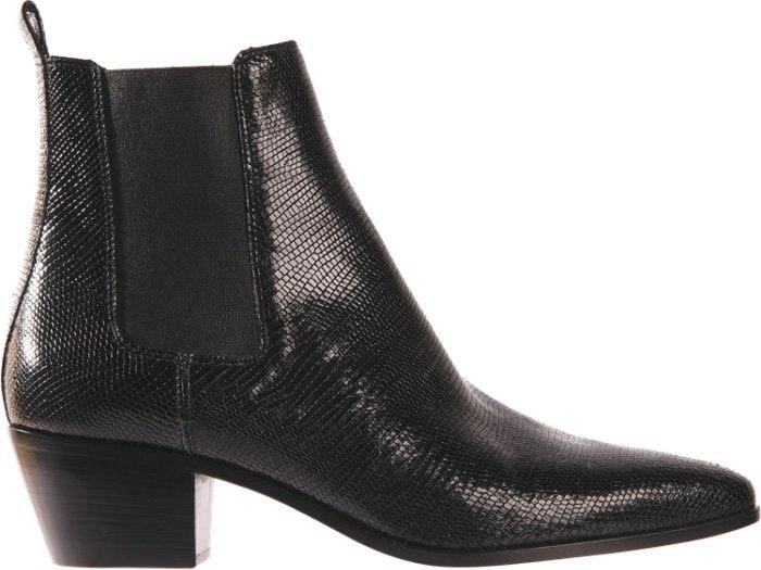 Saint Laurent Rock Chelsea Boots