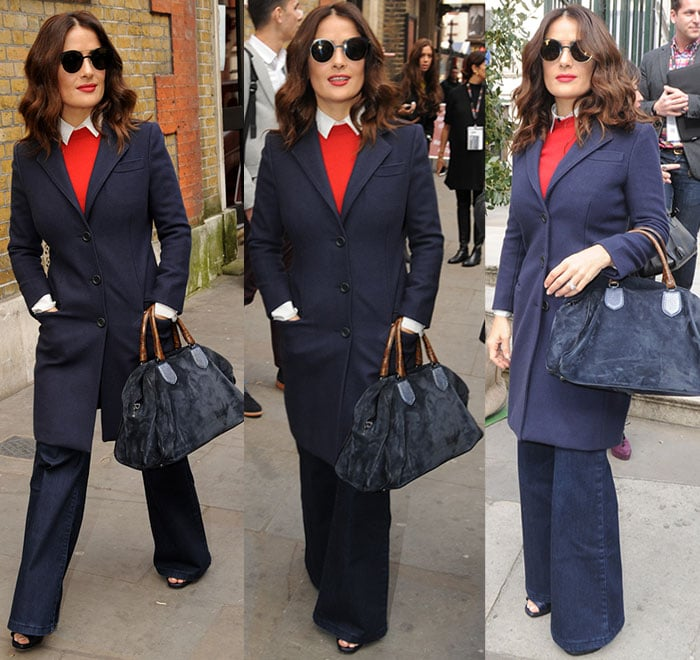 Salma-Hayek-at-St-James's-Church-in-Piccadilly