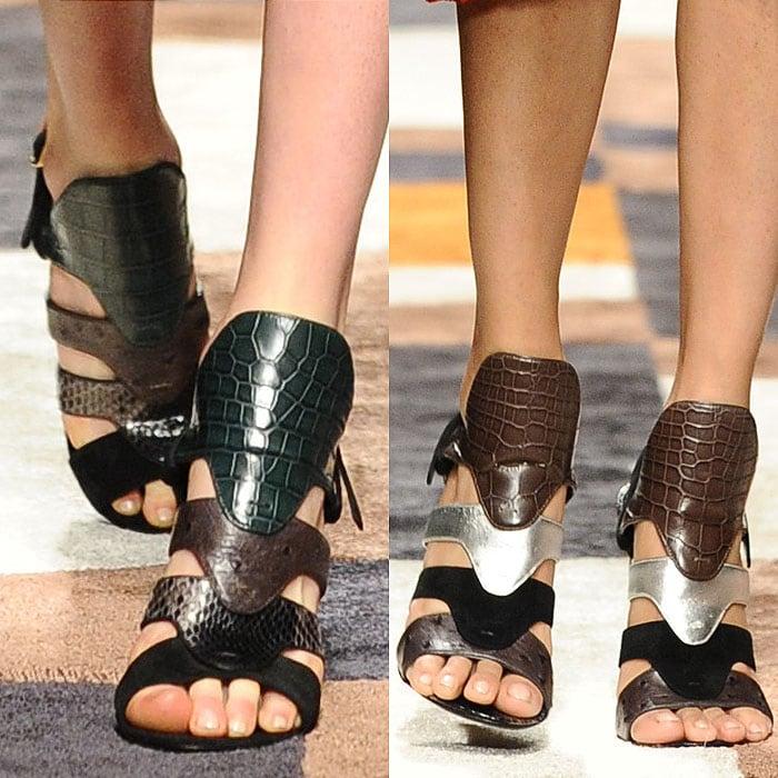 Salvatore Ferragamo fall 2015 sandals 1
