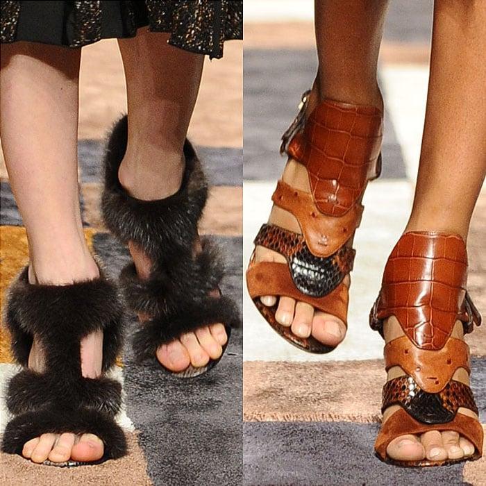 Salvatore Ferragamo fall 2015 sandals