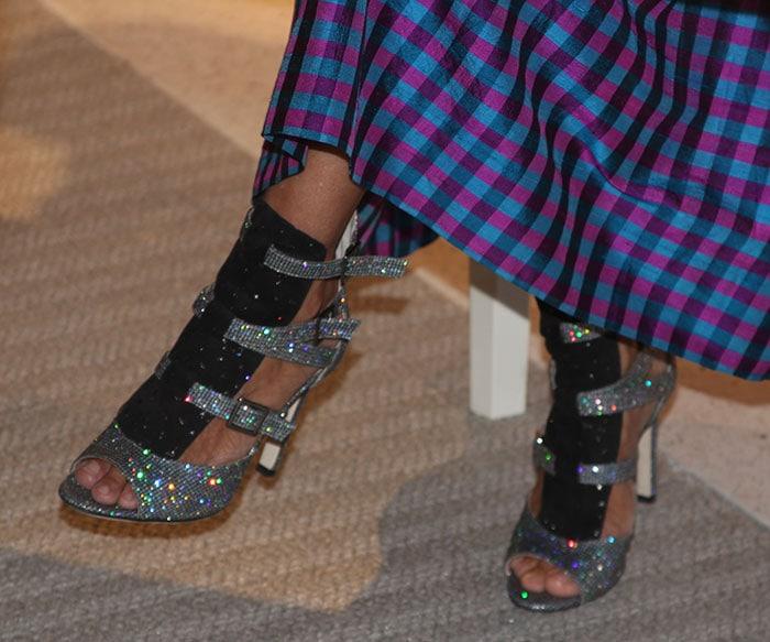 Sarah Jessica Parker's sexy toes in SJP heels