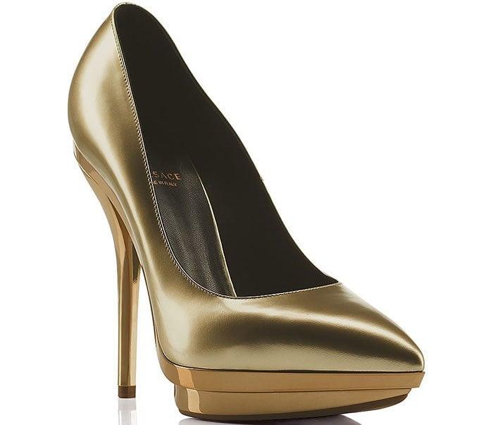 Versace-Laminated-Leather-Decollete-Pumps