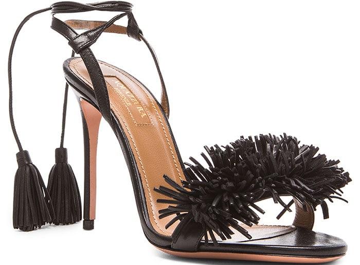 "Aquazzura ""Wild Thing"" Leather Sandals"