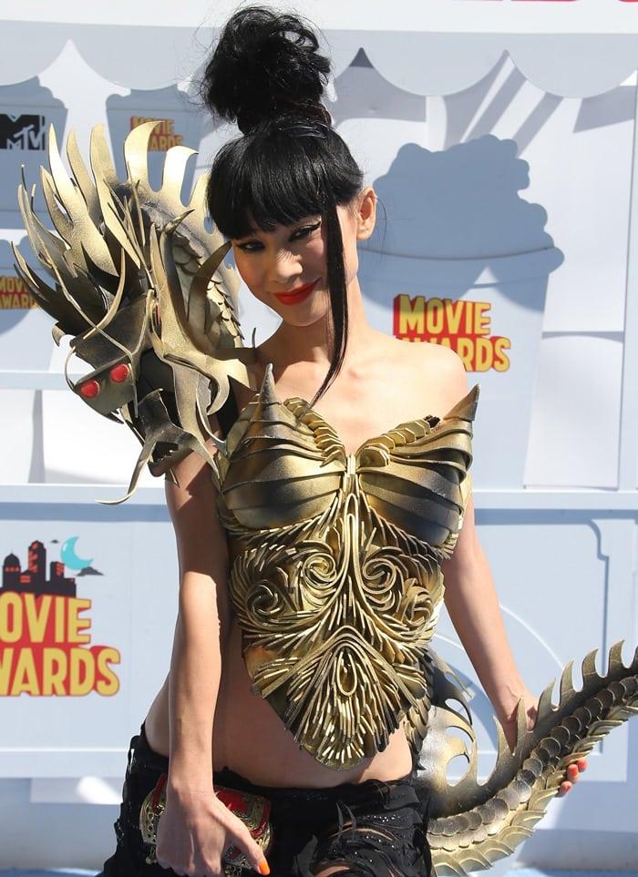 Bai Ling at the 2015 MTV Movie Awards